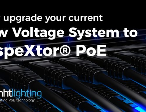 Upgrade your current Low Voltage System to inspeXtor® PoE