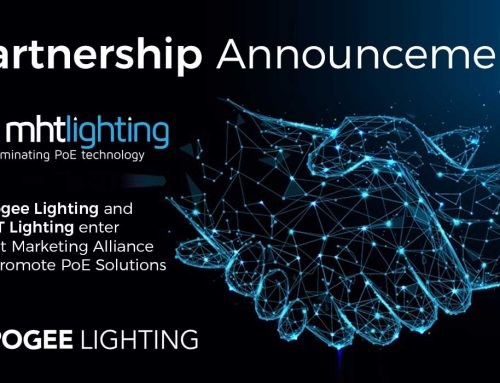 Apogee Lighting and MHT Lighting enter Joint Marketing Alliance to Promote PoE Solutions