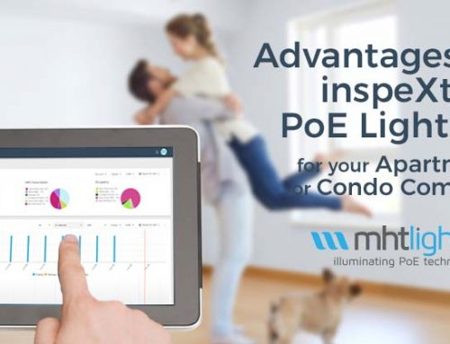 Advantages of the inspeXtor PoE Lighting System for your Apartment or Condo Complex