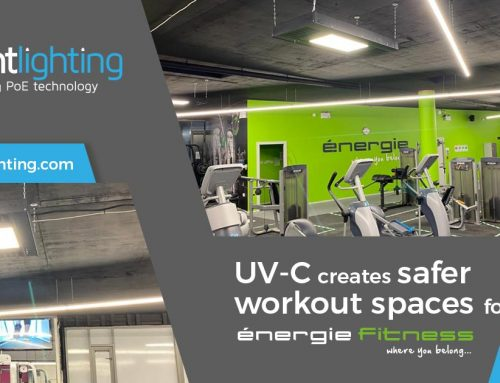 MHT Lighting illuminates the way for safer workout spaces with UV-C technology in Énergie Fitness